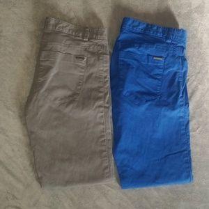 Calvin Klein men's slim fit pants